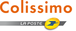 Pharmacie les Sources expédie avec Colissimo