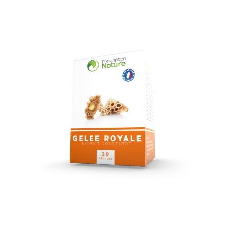 Gelée royale - 30 gélules - Prescription Nature