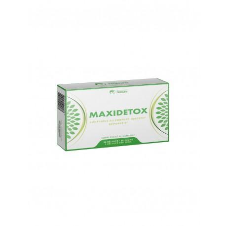 Maxidetox - 30 gélules - Prescription Nature